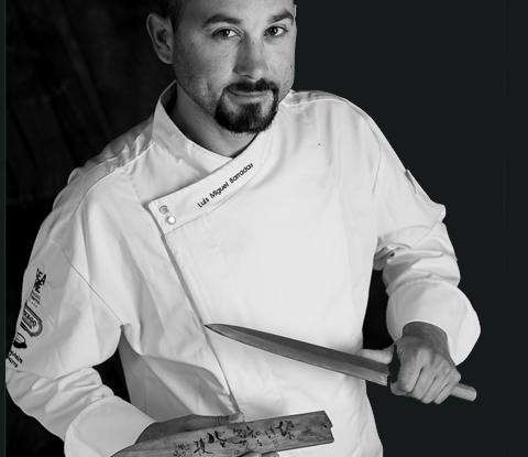 Chef Luís Miguel Barradas